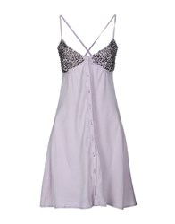 Met Dresses Short Dresses Women Light Purple
