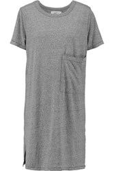 Current Elliott The Ex Boyfriend Jersey Mini Dress Gray