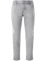 Michael Michael Kors Tapered Slim Fit Jeans Grey