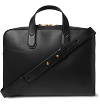 Dunhill Duke Leather Briefcase Black