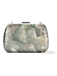 Serpui Mothe Of Pearl Clutch Women Mother Of Pearl One Size Black