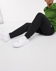 Champion Joggers With Elastic Cuffs In Black