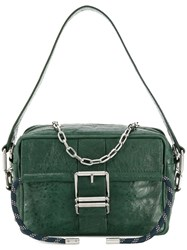 Zadig And Voltaire Johnny Crush Shoulder Bag Green