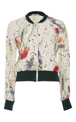 Cacharel Printed Long Sleeve Bomber