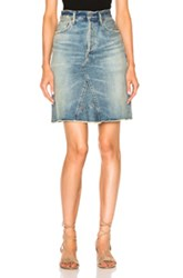 Citizens Of Humanity Liya Skirt In Blue