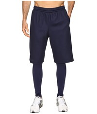 Puma Evo Layered Tights Peacoat Men's Casual Pants Blue