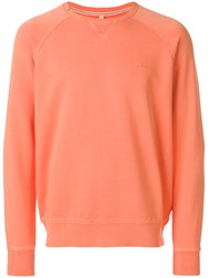 Sun 68 Loose Fit Sweatshirt Yellow And Orange