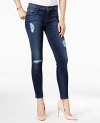 Hudson Jeans Ripped Skinny Collin Anchor Light Wash
