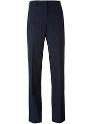 Paul Smith Ps By Pinstriped Tailored Trousers Blue