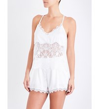 Palindrome Starling Lace Camisole Snow White