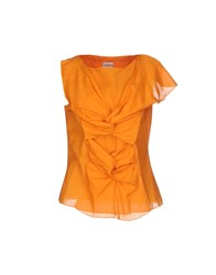 Philosophy Di Alberta Ferretti Topwear T Shirts Women Orange