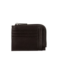 Armani Jeans Document Holders Dark Brown
