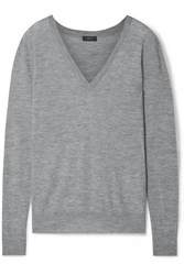 Joseph Cashmere Sweater Gray