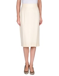 Gai Mattiolo 3 4 Length Skirts