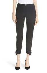 Ted Baker London Toplyt Bow Cuff Ankle Pants Black