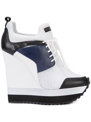 Ruthie Davis Tech Sneakers White