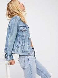 Levi's Ex Boyfriend Trucker Denim Jacket By