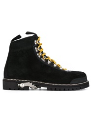 Off White Mountaineering Climbing Boots Black