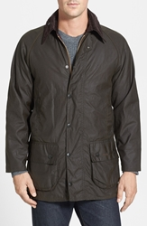Barbour 'Classic Beaufort' Relaxed Fit Waxed Cotton Jacket Olive
