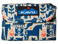 Kavu Wally Wallet Fable Handbags Multi