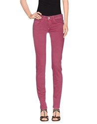 Gj Gaudi' Jeans Denim Denim Trousers Women Garnet