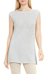 Vince Camuto Women's Two By Pointelle Stitch Sweater