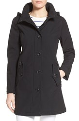 Women's Kensie Soft Shell Coat With Removable Hood
