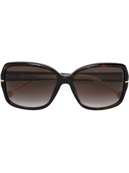 Carolina Herrera Oversized Sunglasses Brown