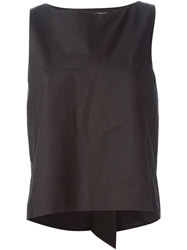 Golden Goose Deluxe Brand 'Annis' Trapeze Tank Top Black