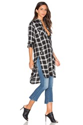 Blank Nyc Long Plait Button Up Black