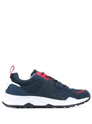 Tommy Hilfiger Fashion Panelled Sneakers Blue