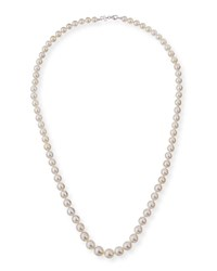 Belpearl 13Mm South Sea Pearl Necklace In 18K White Gold 36 L