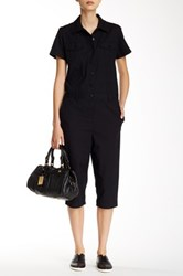 Marc By Marc Jacobs Cropped Jumpsuit Black