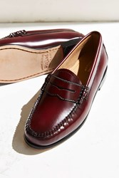 Bass Weejun Whitney Loafer Maroon