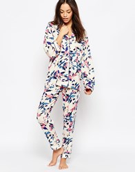 Minkpink Mink Pink Secret Forest Pyjama Bottoms Multicoloured