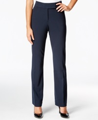 Jm Collection Straight Leg Pants Only At Macy's Navy