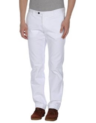 Msgm Casual Pants White