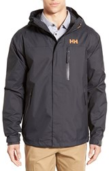 Men's Helly Hansen 'Vancouver' Packable Rain Jacket Ebony