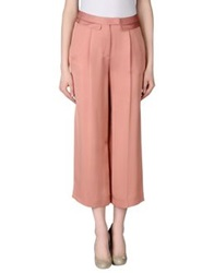 Uniqueness Casual Pants Pastel Pink