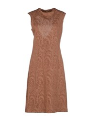 Semi Couture Dresses Short Dresses Women Brown