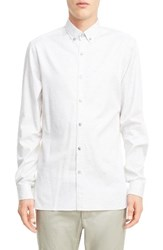 Lanvin Men's Heathered Cotton Sport Shirt