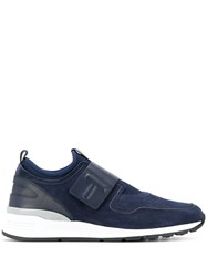 Tod's Suede Detail Sneakers Blue