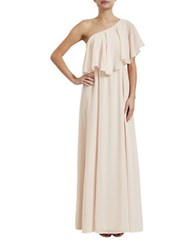 Paper Crown Madison Floor Length Gown Blush
