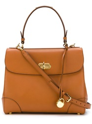 Ralph Lauren 'Tiffin' Bag Brown