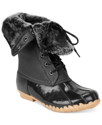 Sporto Women's Daphne Faux Fur Booties Women's Shoes Black