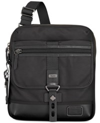 Tumi Men's Annapolis Zip Flap Bag Black