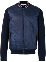 Salvatore Ferragamo College Jacket Blue