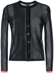 Paul Smith Ps By Knitted Cardigan Black