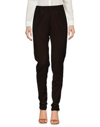Fisico Casual Pants Dark Brown