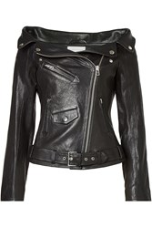 Faith Connexion Leather Biker Jacket